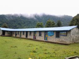 Our very first school project in Chitre