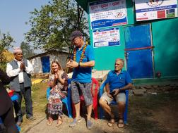 Official opening at Jutpani water project