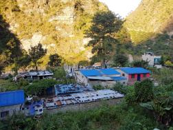 Fulbari dorp in Myagdi district