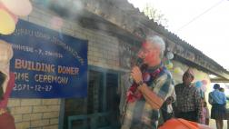 Chairman officially opens the school