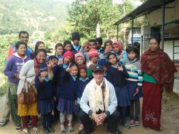 Syangja Deaf children