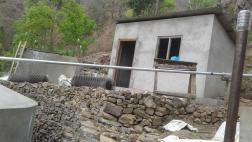 Pump house constructiuon at Siling water project