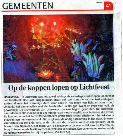Lichtfeest 2013